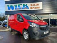 2015 Vauxhall Vivaro 2700 L1H1 CDTI SWB VAN *RED* Manual Panel Van Diesel Manual
