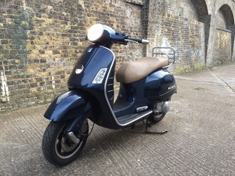 2007 piaggio vespa gts 250cc scooter 250 cc long mot. Black Bedroom Furniture Sets. Home Design Ideas