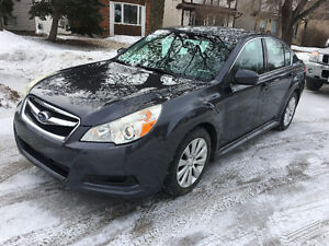 2011 Subaru Legacy 3.6L Sedan Bluetooth Leather moonroofSafetied