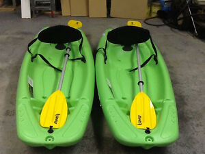 Solo Kayaks $150.00 for 2