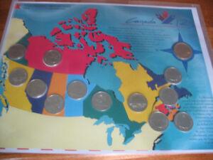 Collection de monnaie Canadienne