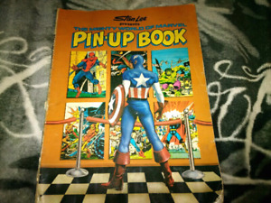 Stan Lee Marvel pin-up book 1978