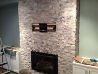 Does  your fireplace need to be re-tiled.