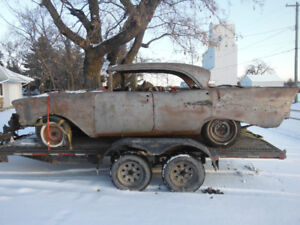 #2 1957 CHEVY BELAIR DR4 HARDTOPS (CONTINENTAL PACKAGE)