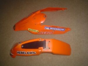 FROM A 2009 KTM 400 XCW GOOD SHAPE BOTH FENDERS
