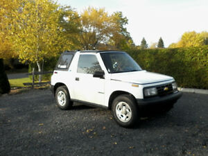 CHEVROLET TRACKER 1991 2 ROUES MOTRICES