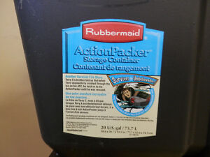 Rubbermaid action packer. London Ontario image 4
