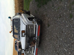 1983 Chevy 1ton with salter and plow