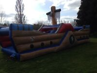 Commercial bouncy castle for sale.Pirate ship