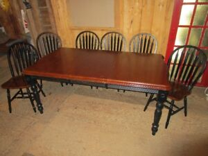 Large Table and Chairs