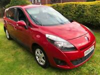 2009 59 Red Renault Grand Scenic 1.5 Dci Diesel 7 Seater People Carrier CHEAP