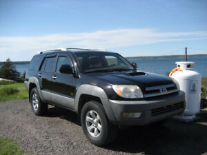 For parts : 2003 Toyota 4Runner Sport V6