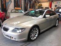 BMW 6 SERIES 650i SPORT E63 4.8 V8 LUXURY MUSCLE Silver Auto Petrol, 2006 (06)