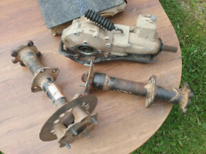 2004 Suzuki Vinson 500 rear differential