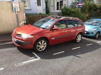 Renault Megane estate 1.9dci long MOT