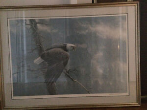 ROBERT BATEMAN PRINT, THE AIR, THE FOREST AND THE WATCH Gatineau Ottawa / Gatineau Area image 1