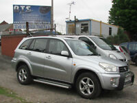 Toyota RAV4 2.0 VVTi VX- 1 Years MOT ready to drive away