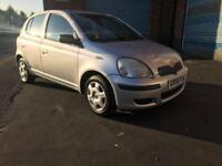 Toyota Yaris 1.0 VVT i T3 silver 2005 model. MOT til March 2018 superb!!