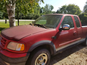 2000 ford f150 2 wheel drive ext cab