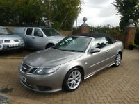 2007 57 Reg Saab 9-3 1.9TiD Convertible ( 150ps ) auto 2007MY Vector
