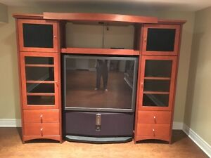Entertainment Console with Free 53 Inch Sony TV