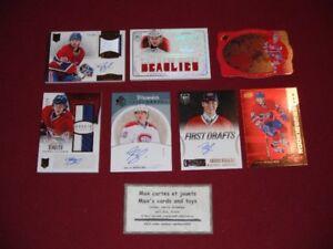 Lot de 30 cartes Hockey de Nathan Beaulieu RC Jersey Auto #ed