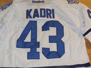 New Nazem Kadri Toronto Maple Leafs Jersey. Size Medium