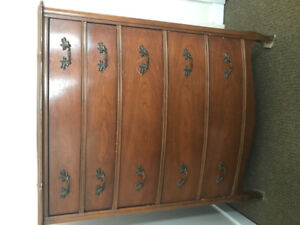 Antique Knechtel hardwood chest of drawers