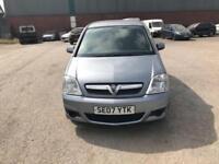Vauxhall Meriva 1.4 ENERGY 5 DOOR - 2007 07-REG - 7 MONTHS MOT