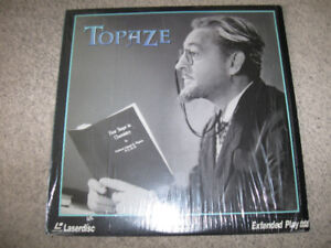 Topaze-Laserdisc-Excellent condition-1933 film/Lionel Barrymore