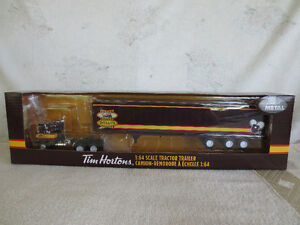 TIM HORTONS EMPLOYEE EDITION DIECAST TOY SEMI TRUCK
