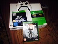 Xbox One,1 controller,Quantum Break,Alan Wake,Tomb Raider the rise of,Xbox live 14 day trial