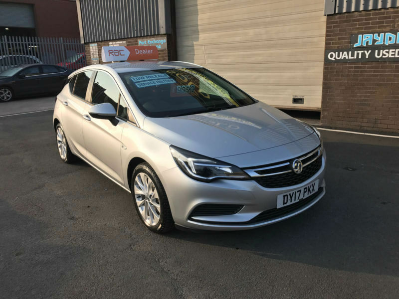 2017 17 VAUXHALL ASTRA 1.4i TECH LINE ( 100ps ) 1,200 MILES WARRANTED