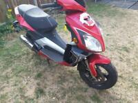 Qingqi QM 125 T-10R moped runs like pcx ps or sh 499 no offer