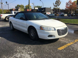 CONVERTIBLE CHRYSLER SEBRING 2004