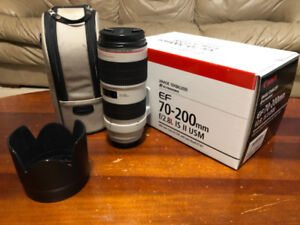 Canon EF 70-200mm f2.8 IS II USM Lens