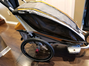 Thule Chariot CX 1 single jogging stroller, excellent condition