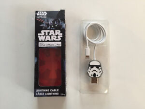 Cable lightning Star Wars pour iPhone / iPad / iPod