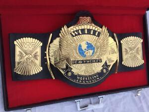 New WWF WINGED EAGLE Wrestling Championship Title Belt Replica