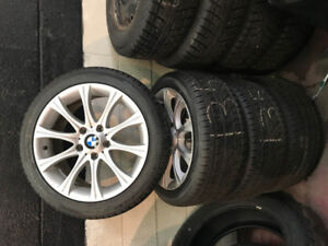 BMW 135 Rims and New summer tires