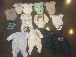 Baby clothes 0-3-6 months