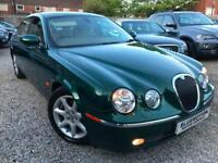 ✿Jaguar S-TYPE 2.7D V6 auto SE Diesel ✿NICE EXAMPLE ✿VERY LOW MILEAGE✿