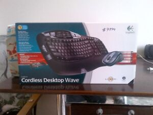 Cord less key board and mouse set for sale