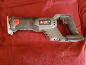 18v Porter Cable reciprocating saw - tool only, no battery