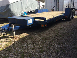 Car Trailer with tool box