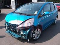 2011 Honda Jazz I-Vtec EX 1.4 DAMAGED REPAIRABLE SALVAGE