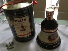 Bells Xmas Decanters
