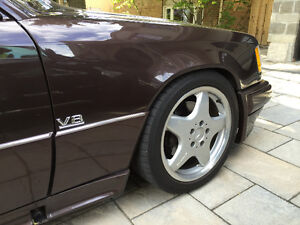 Reduce price: 1994 Mercedes-Benz E-420,V8.AMG package