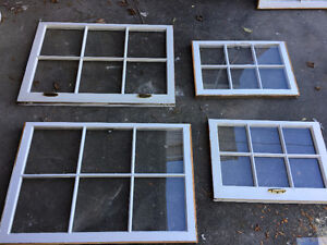 Old windows in good condition. Perfect for DIY projects especial London Ontario image 1