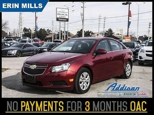 2014 Chevrolet Cruze 1LT   Bluetooth Rear Camera My Link Sunroof